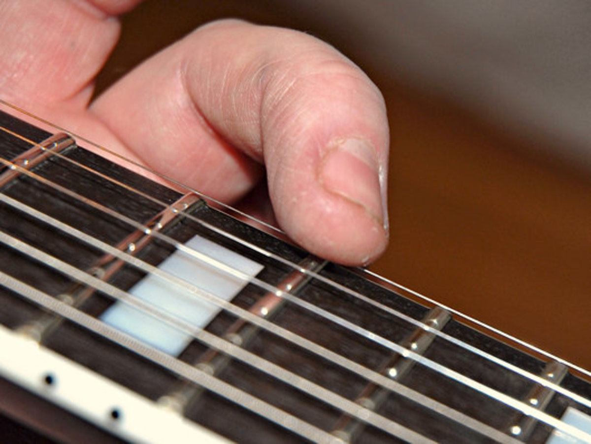 The Thinnest E string is also the Highest string (Highest in musical theory, not physically)