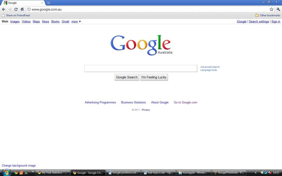 how to change google co in to google com