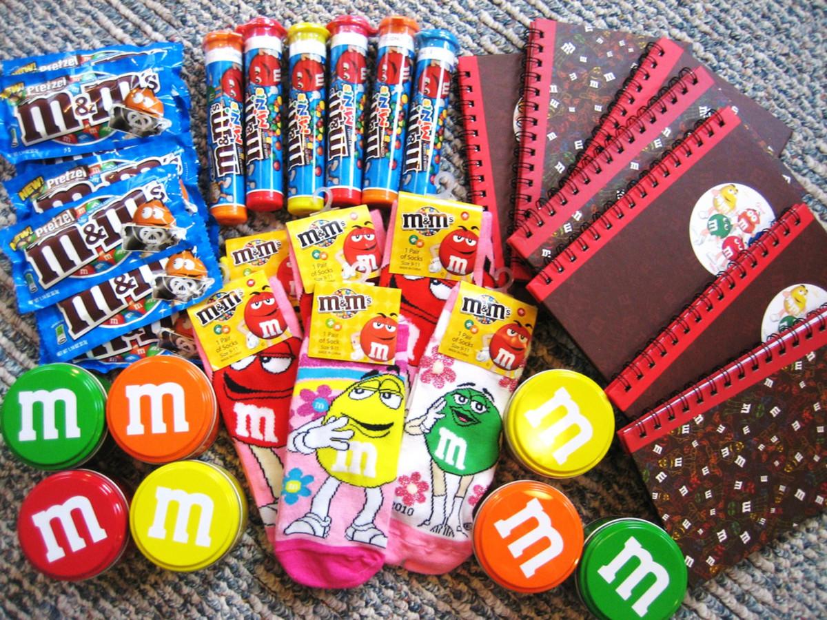 M & M Party Favors