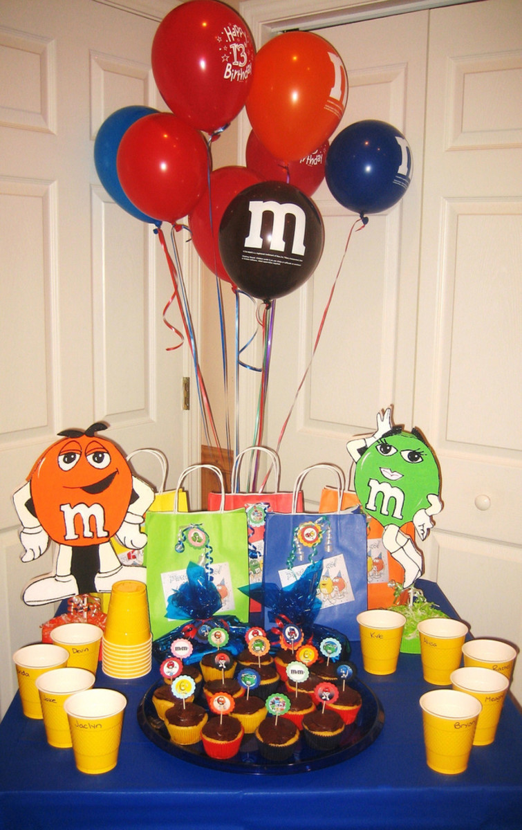 Party Table Décor