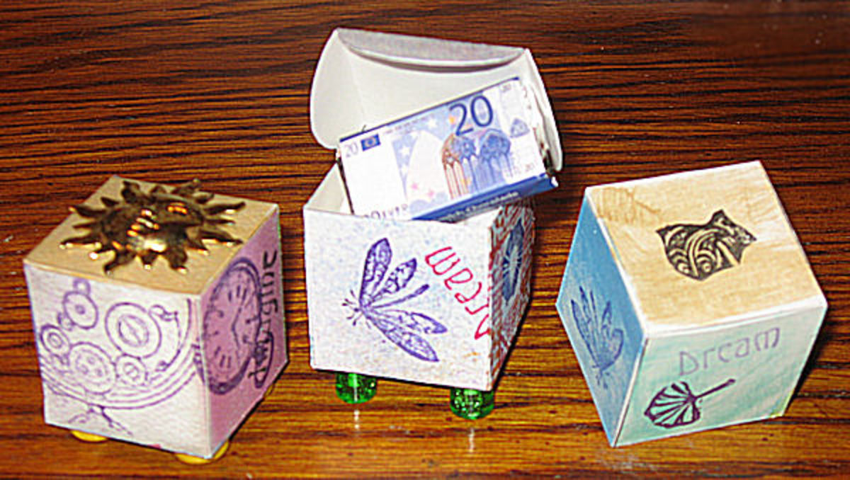 tiny cube templates at Mirkwood Designs