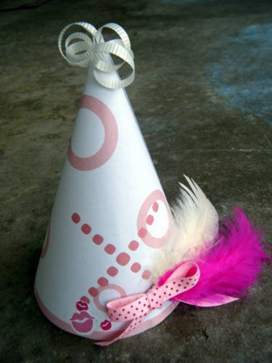 free printable party hats