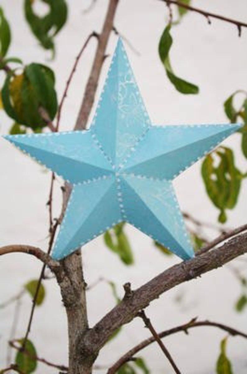Make a 3D Five Point Star