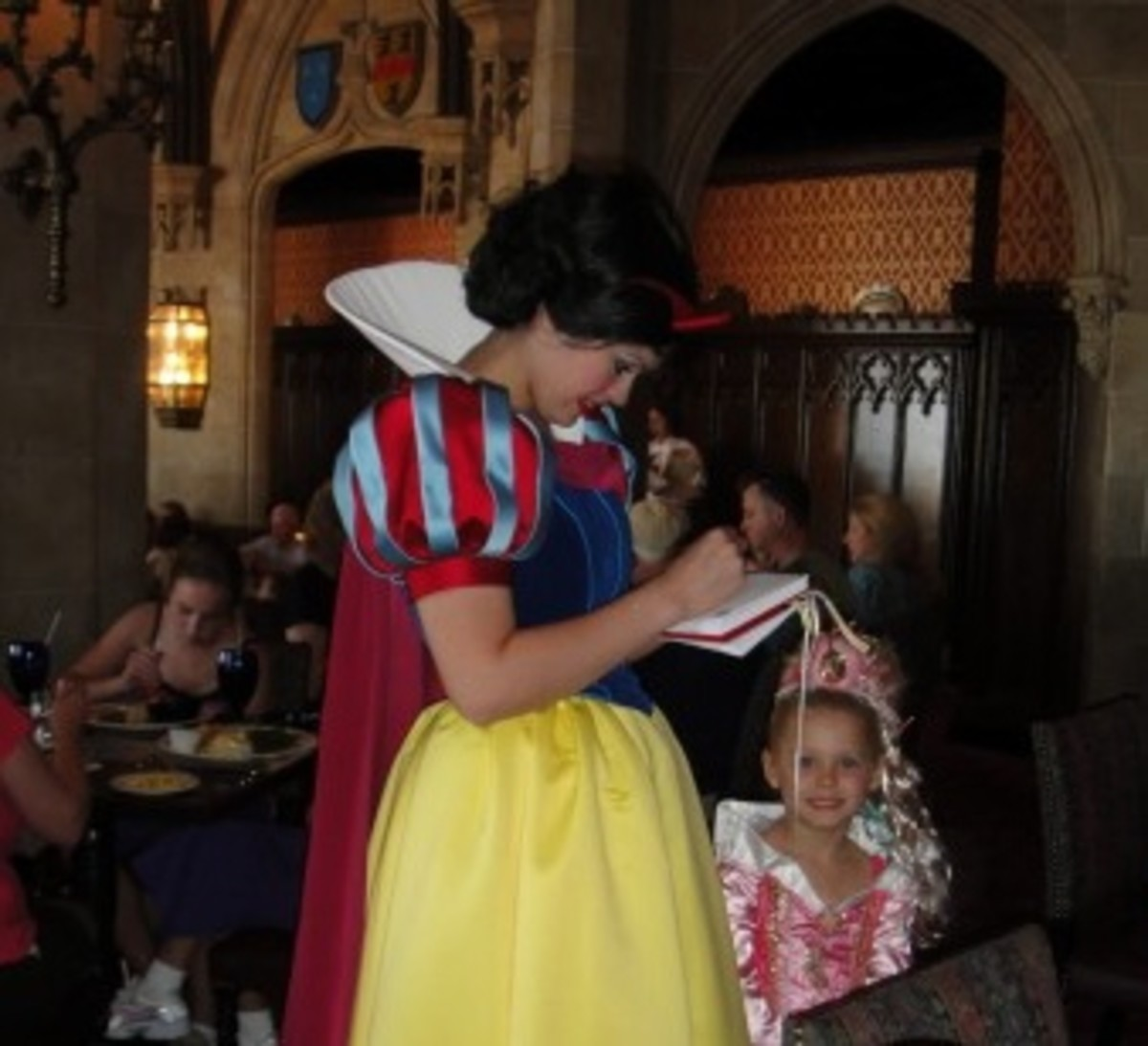 An Autograph from Snow White