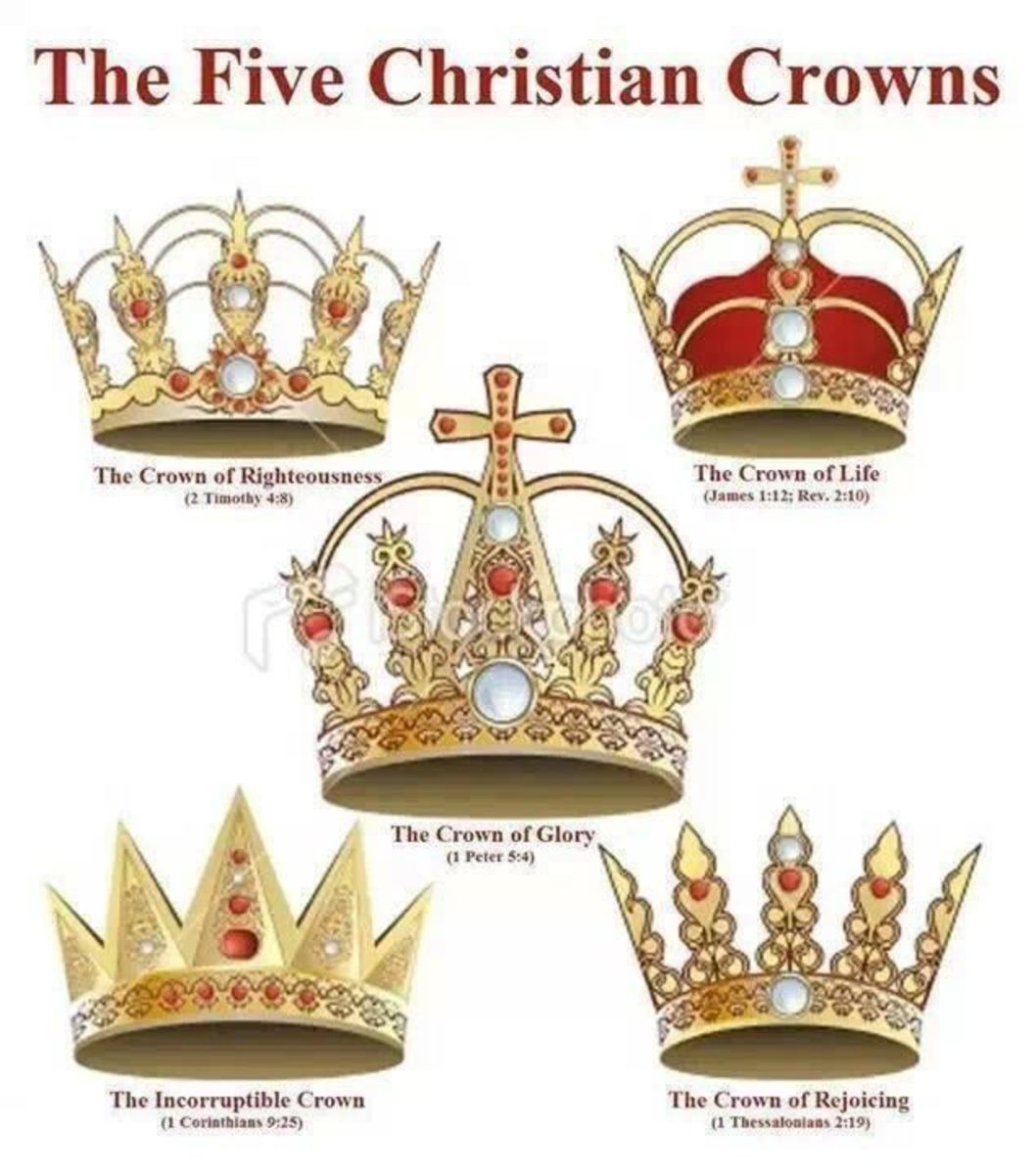 5 crowns in the Book of Revelation