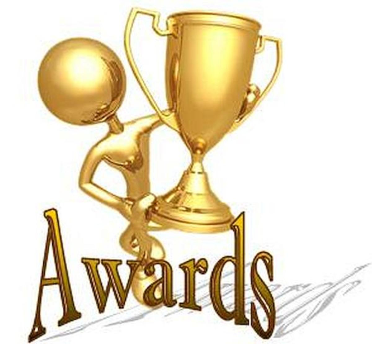 Awards are different from Rewards
