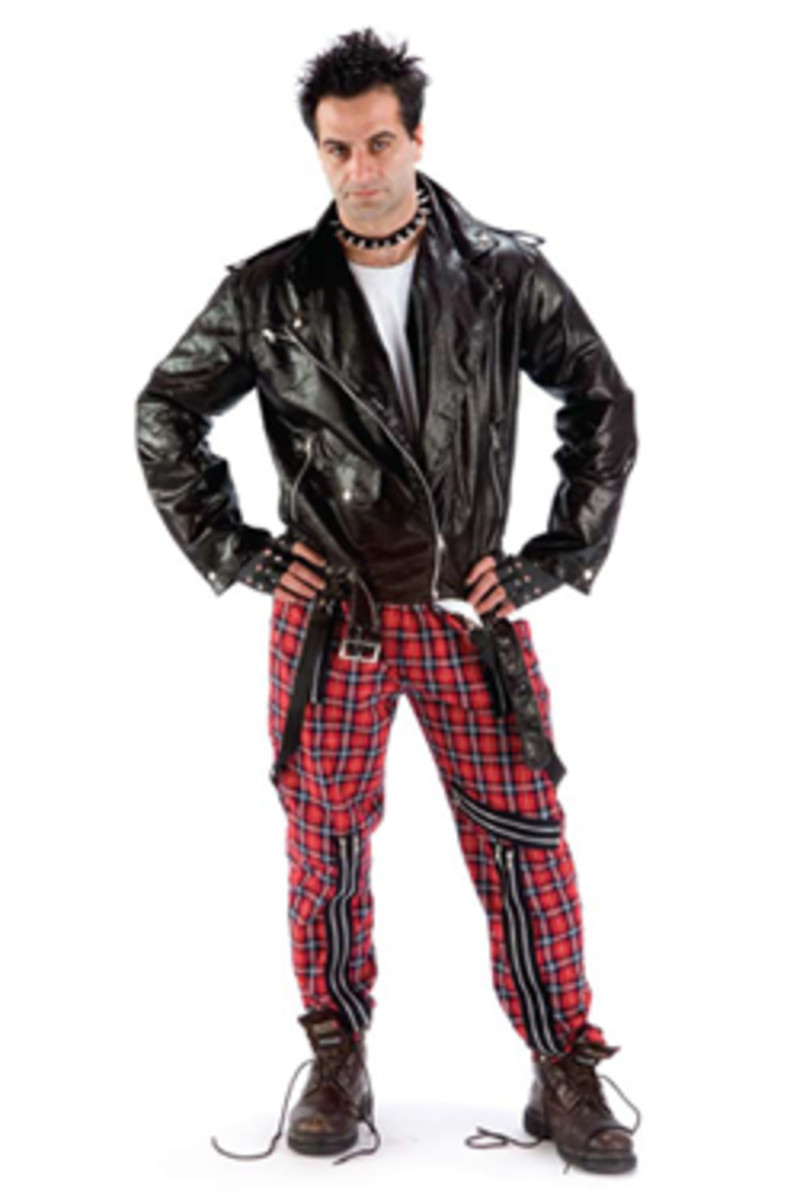Vyvyan (The Young Ones) Costume