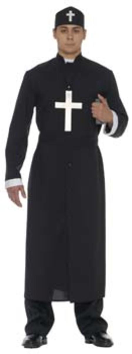 Vicar Costume