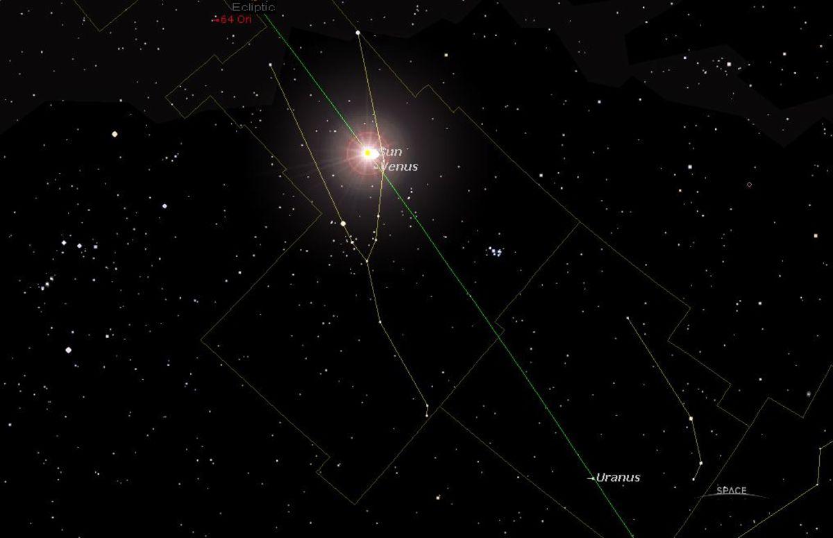 The Jun 03 2020 Venus Inferior Conjunction