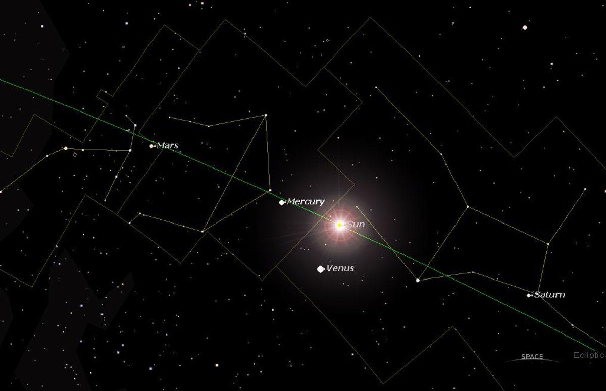 The Oct 10, 2010 Venus Inferior Conjunction