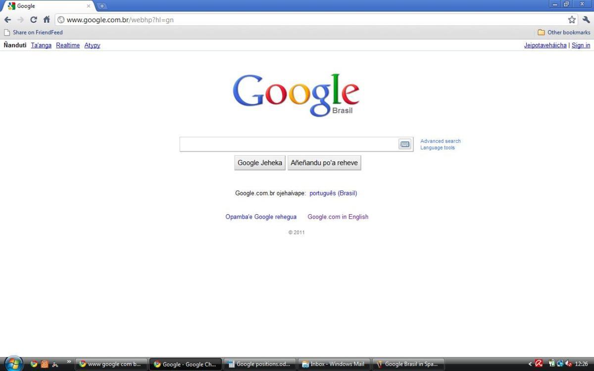 Google Brasil in Guarani