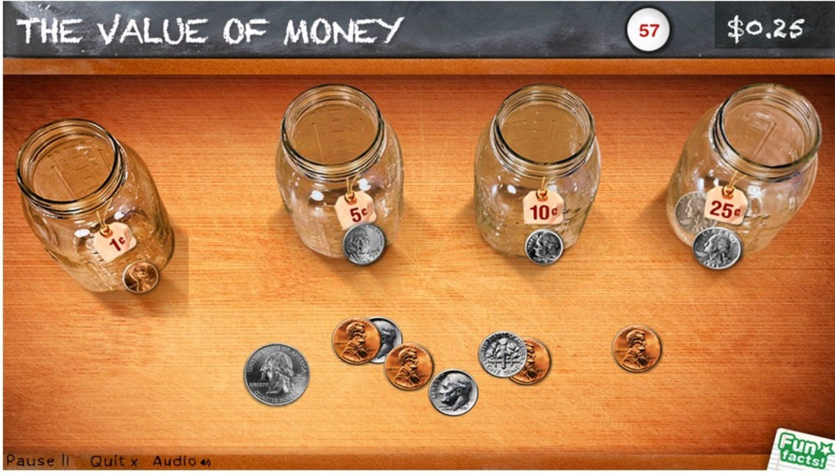 Peter Pig's Money Counter app