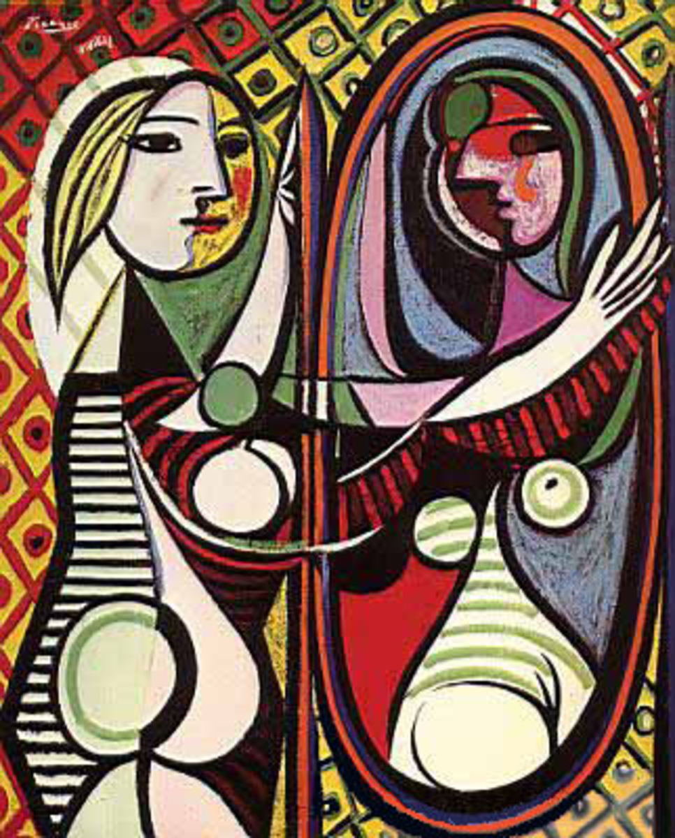 Picasso- inspirational link with the concept of camouflage