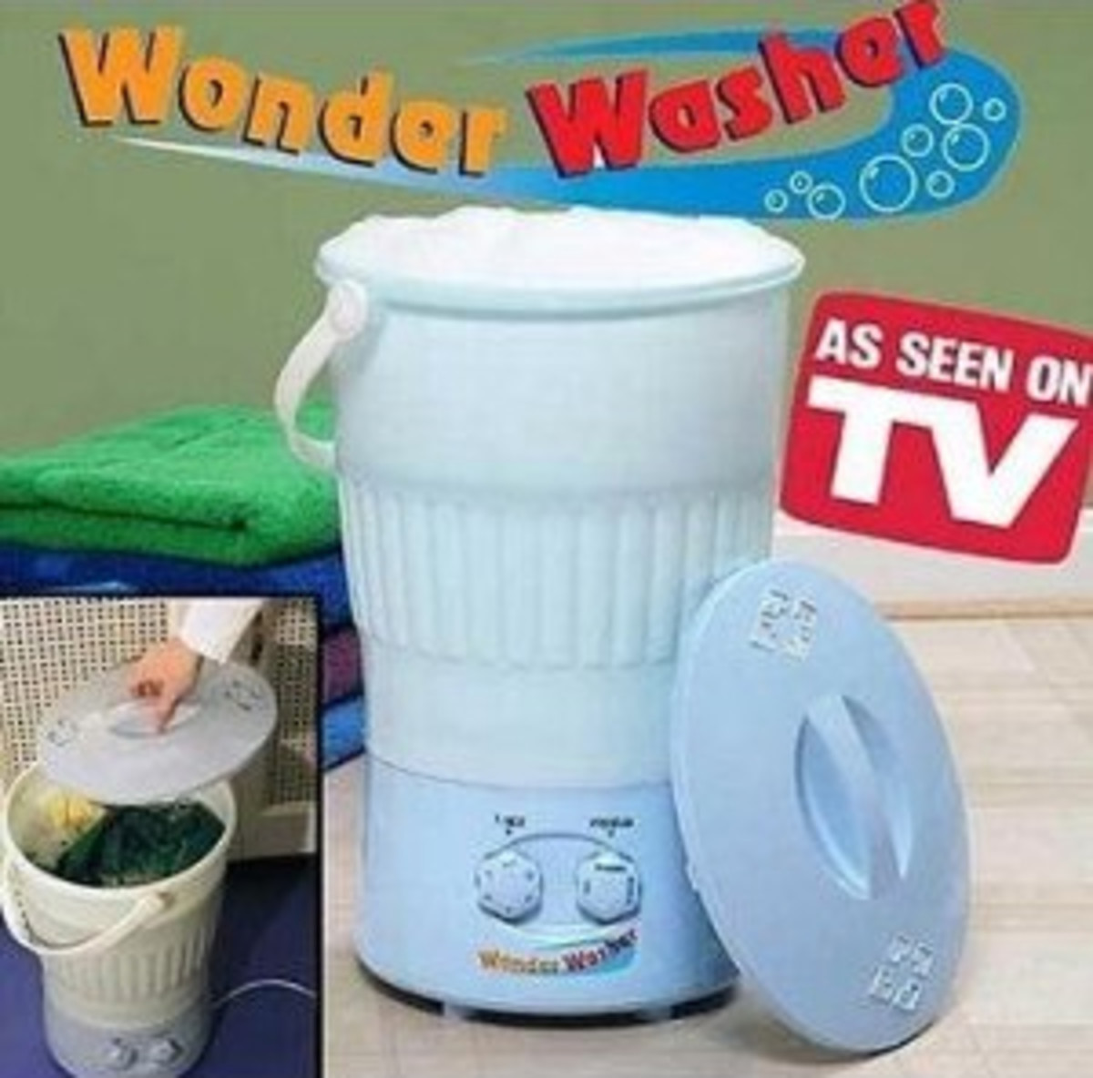 Tabletop Washing Machines - Small Mini Countertop Washers