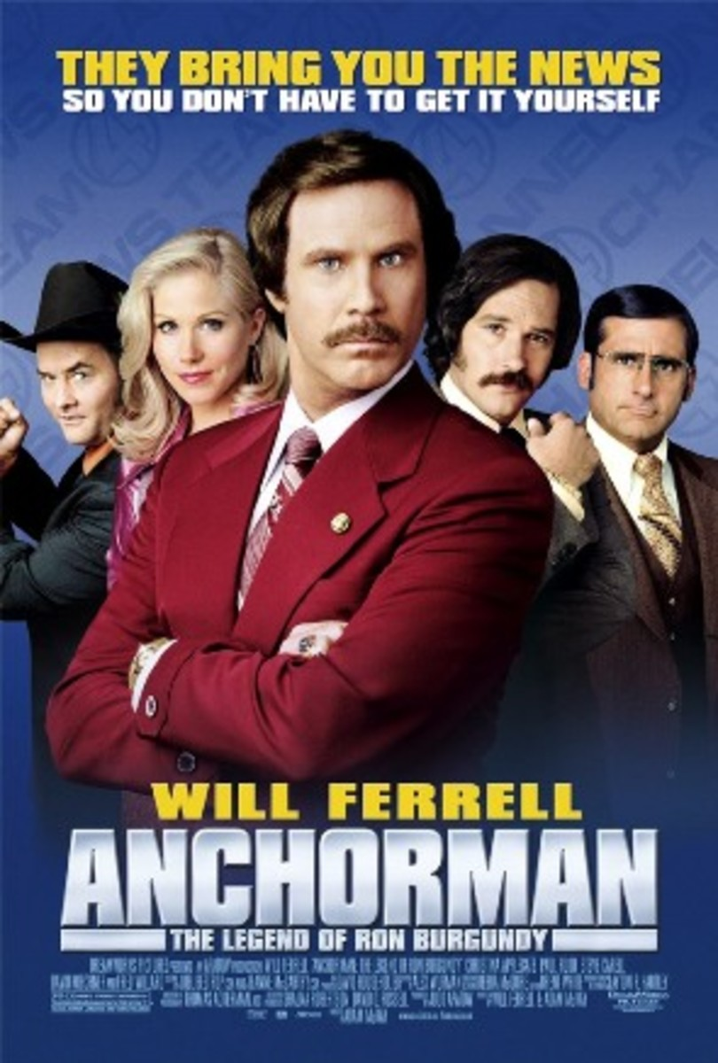 Official Anchorman movie poster.