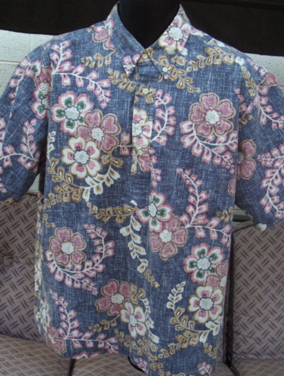 Verify the authenticity of vintage Hawaiian shirts prior to investing.