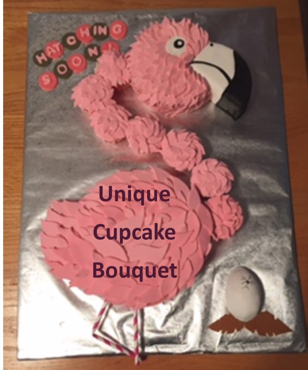 Unique Cupcake Bouquets