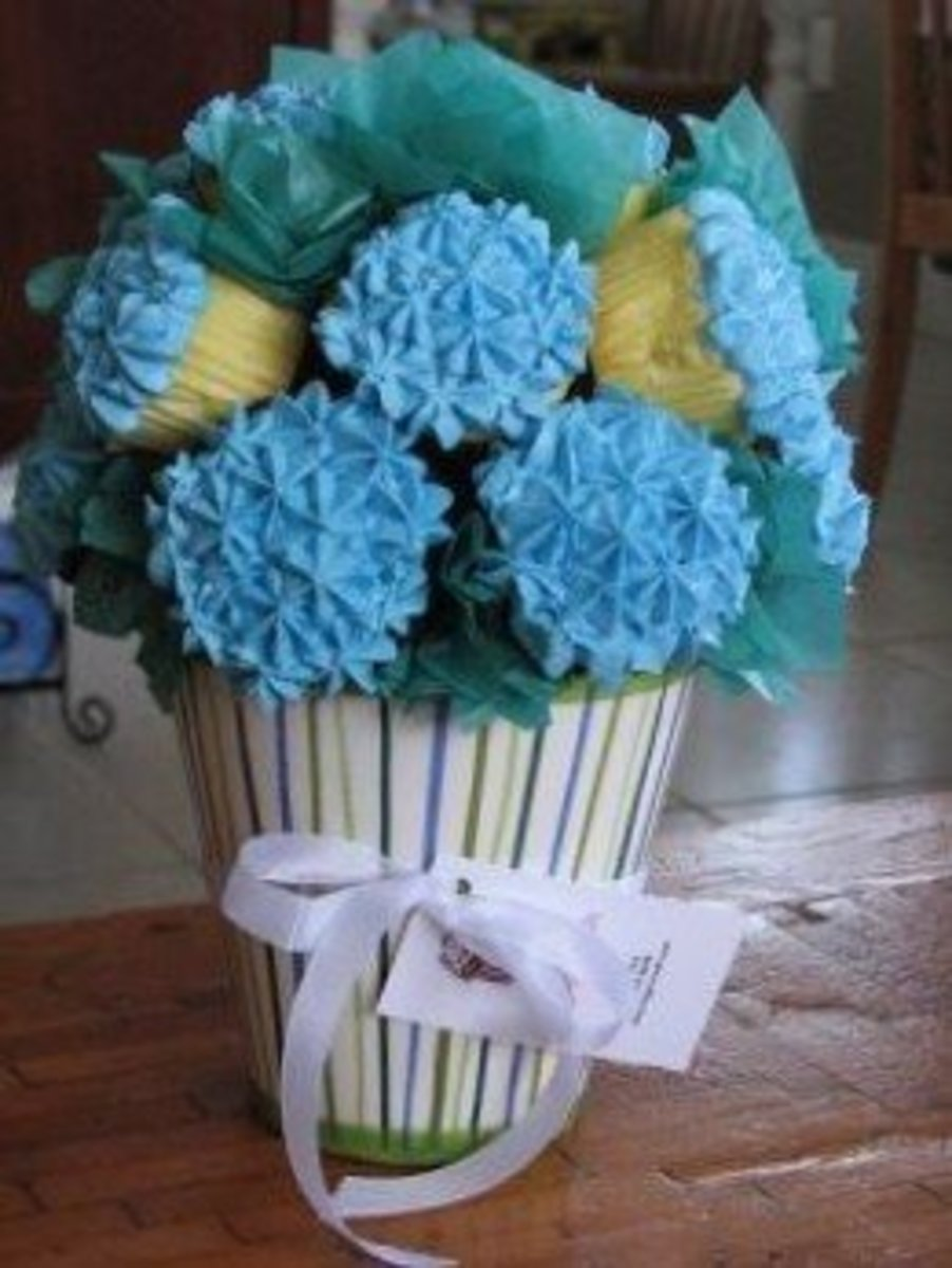 Unique Cupcake Bouquets