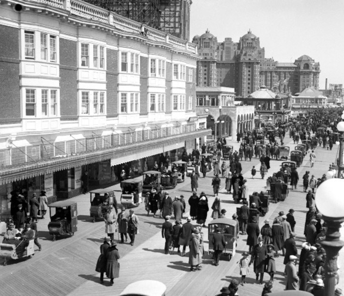1920s Atlantic City, from archive photographs
