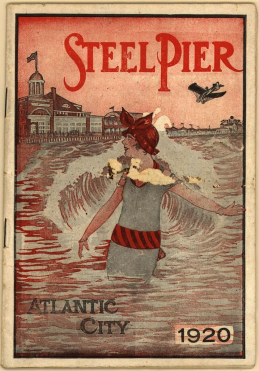 A vintage poster from 1920