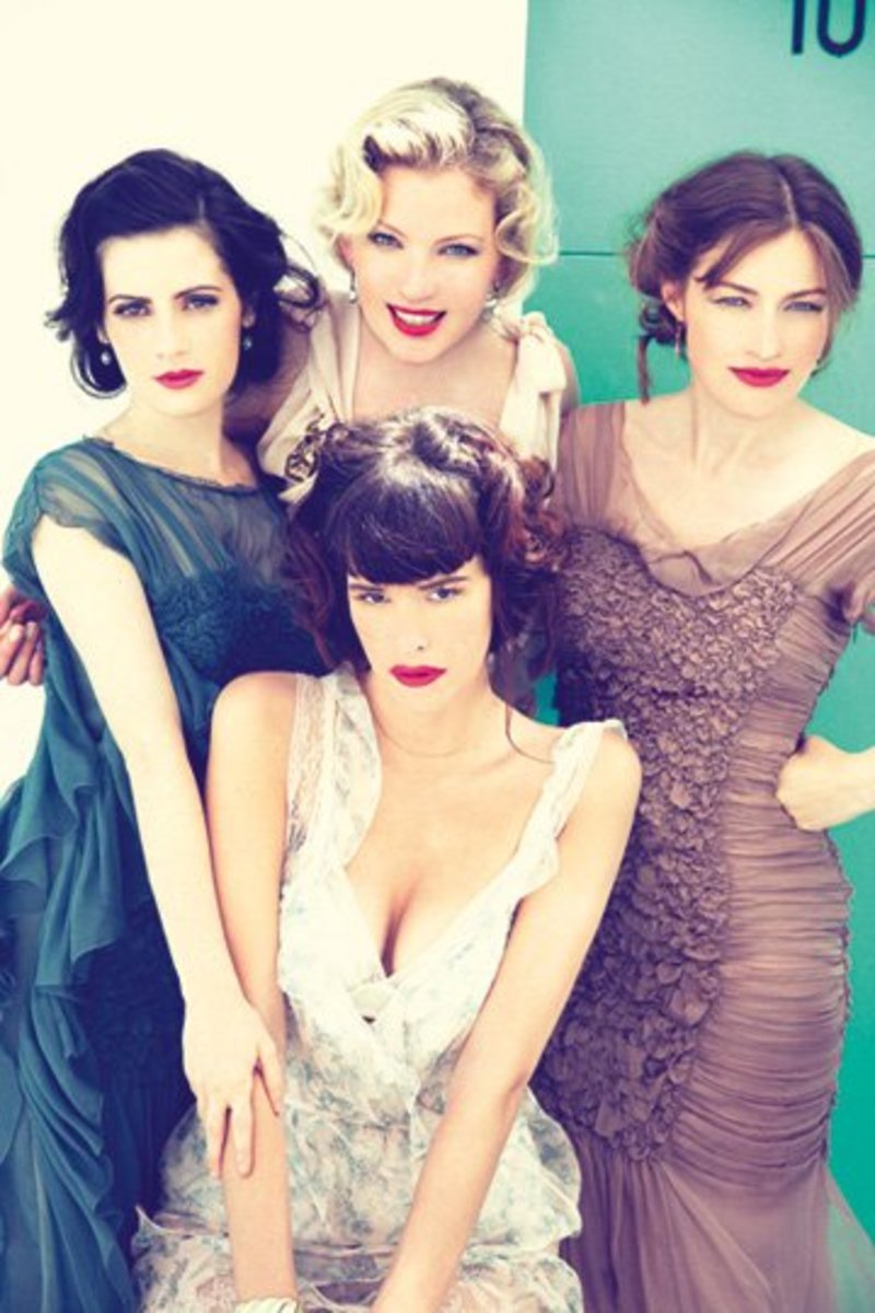 The ladies of Boardwalk Empire on Vanity Fair