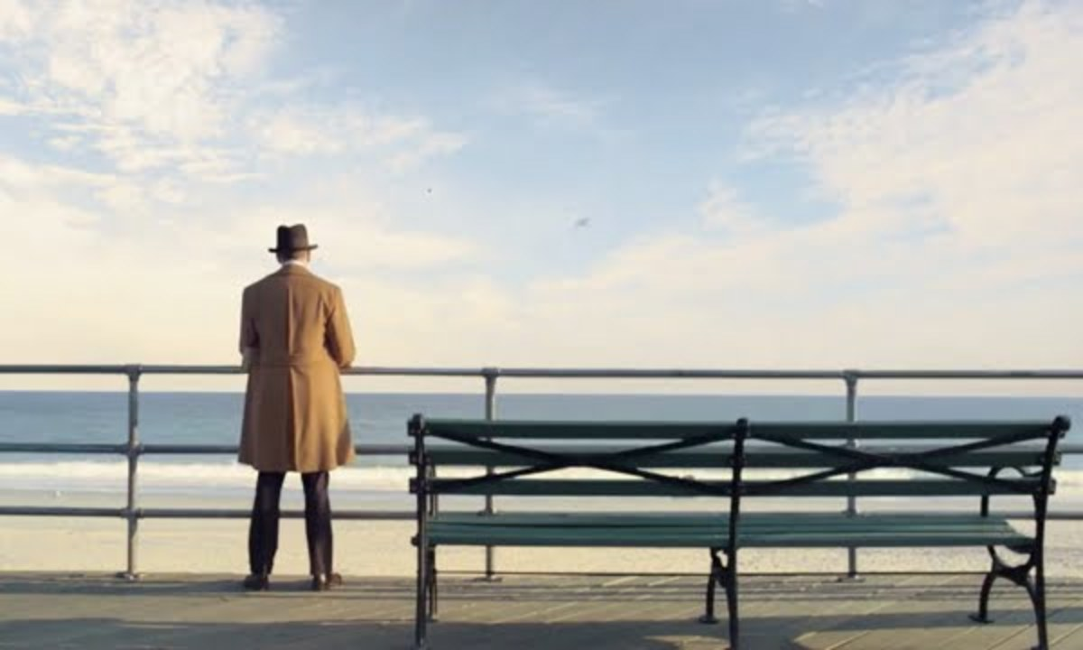 Nucky at sea front