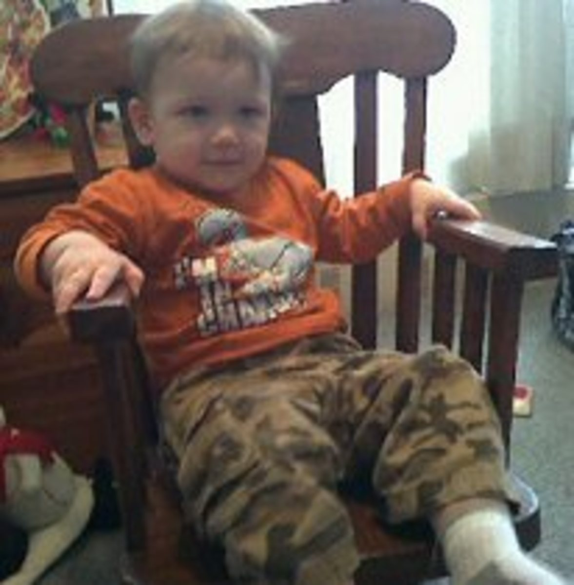 Do you or did you have a baby rocking chair?  Nursery rocking chairs and children's rocking chairs are very popular.