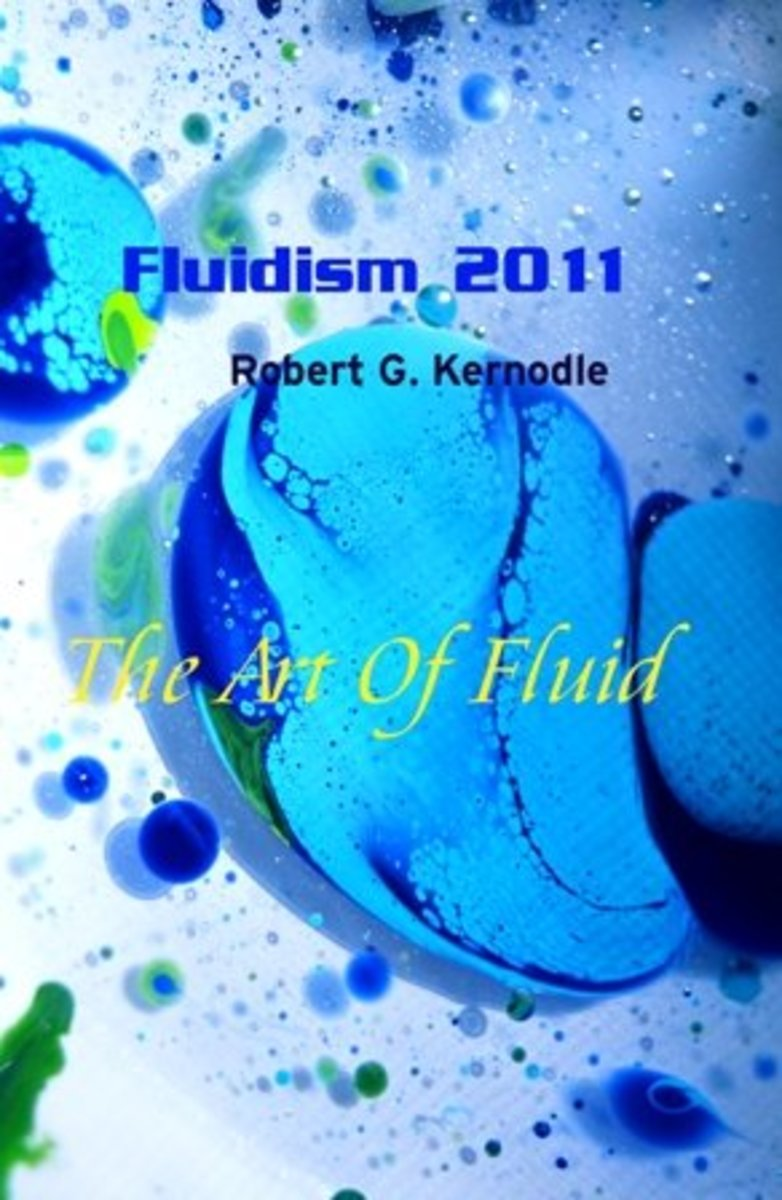FLUIDISM 2011 Wall Calendar Redbubble.com Cover by Robert G. Kernodle