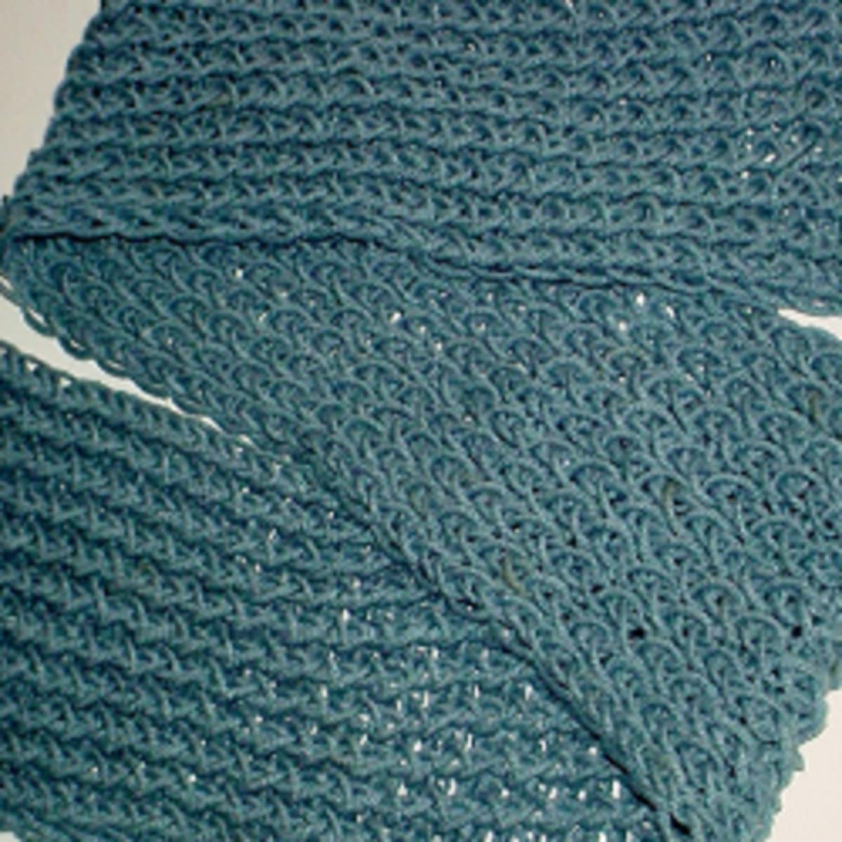 Eight wrap scarf