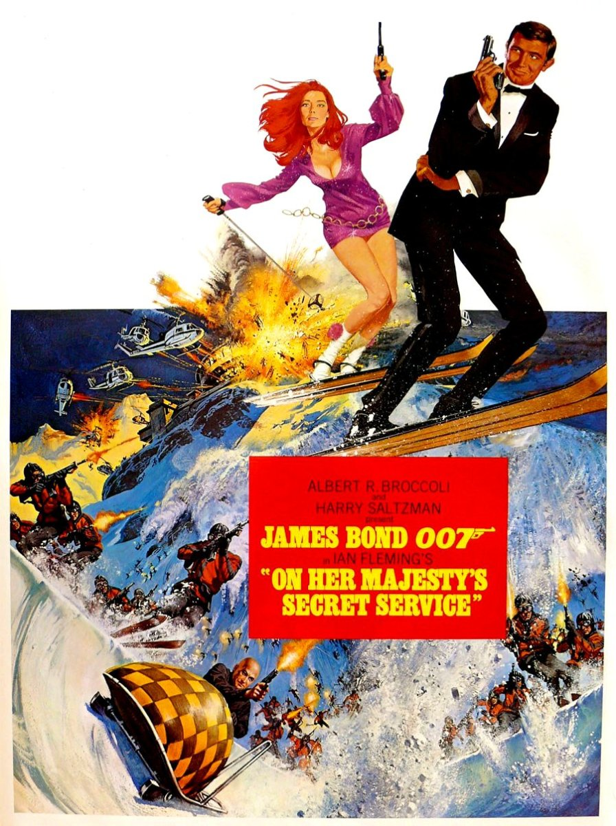 On her Majesty's Secret Service: McGinnis