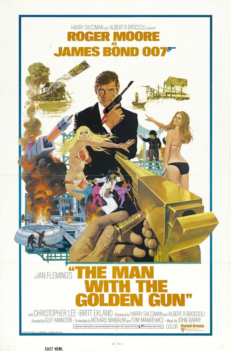 The Man with the golden Gun: McGinnis