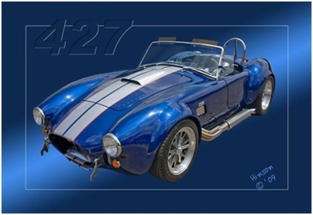 427 Cobra Poster Art by Hinson