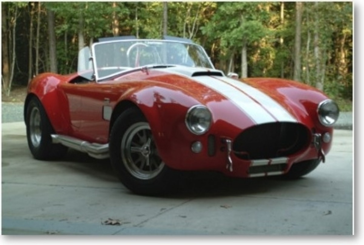AC Cobra Poster by Eagleheart