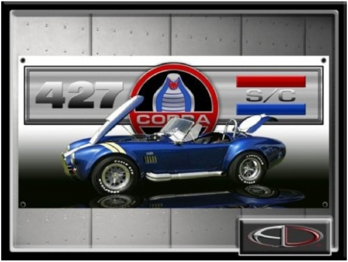 Shelby Cobra 427 S/C Sign Banners