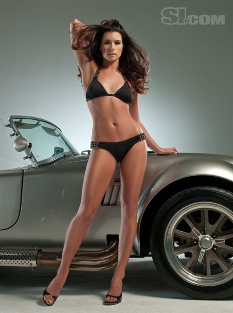 Danica Patrick Shelby Cobra Sports Illustrated 2009 Swimsuit Issue