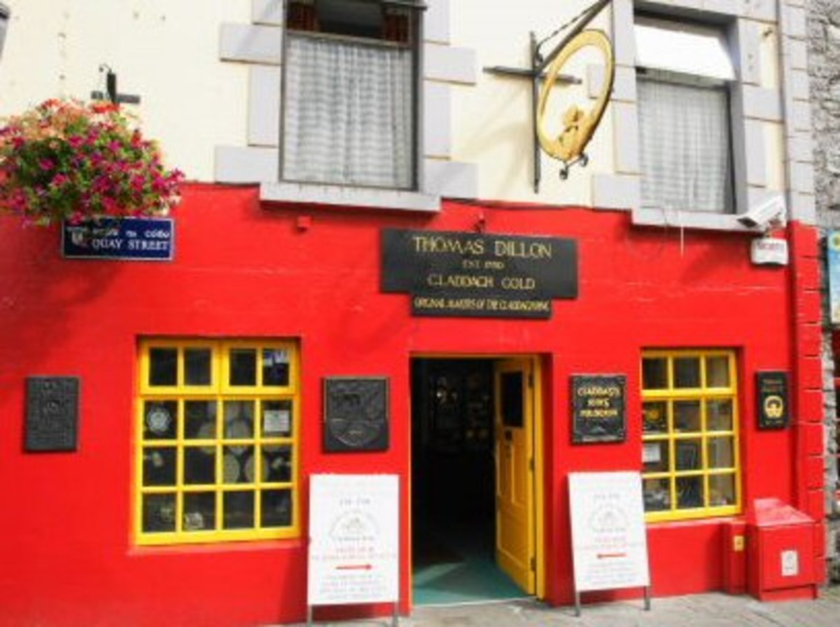 Thomas Dillon's Claddagh Gold, established in 1750 in Galway, Ireland