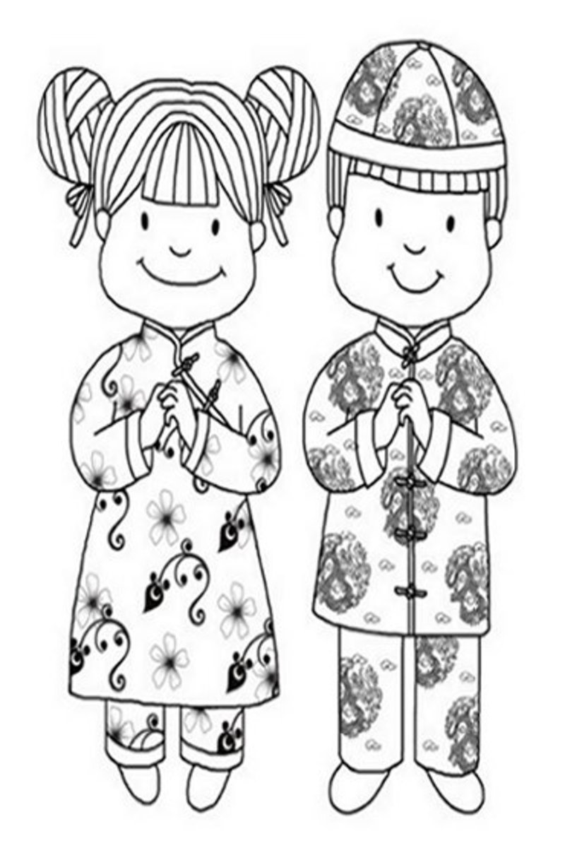 free china coloring pages - photo#36