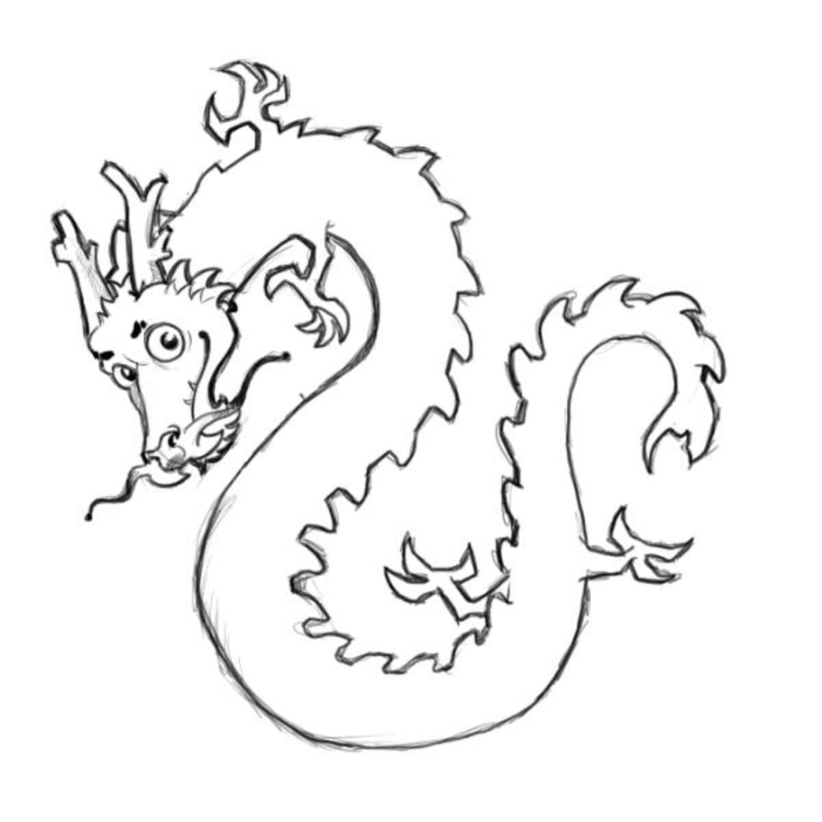 Chinese Images Kids Coloring Pages with Free Colouring Pictures to Print