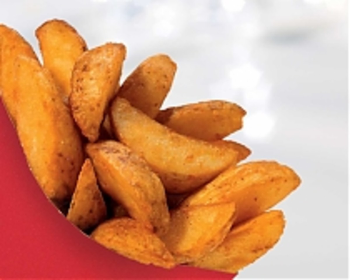 KFC Potato Wedges (fries) CopyCat RecipeFried Potato Wedges Kfc