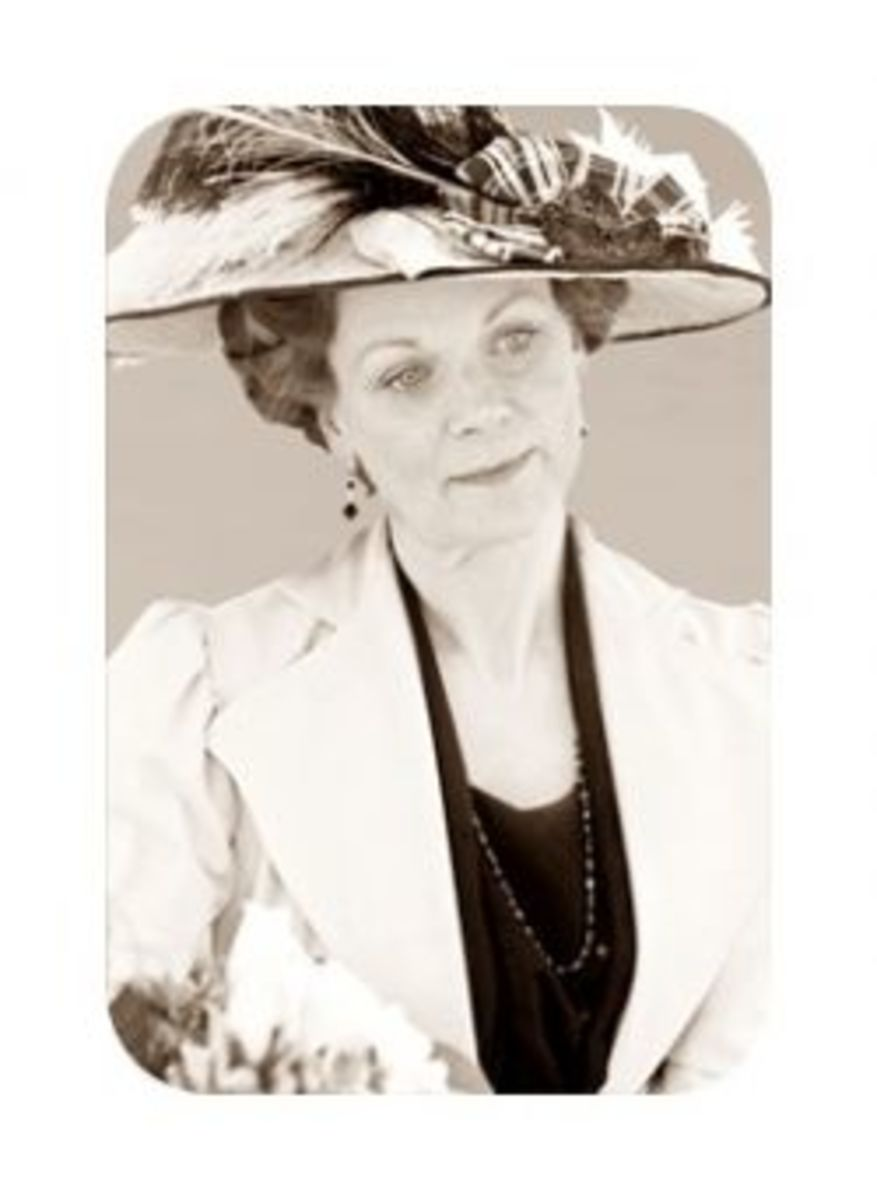 Samantha Bond as Lady Rosamund Painswick in Downton Abbey (2010)
