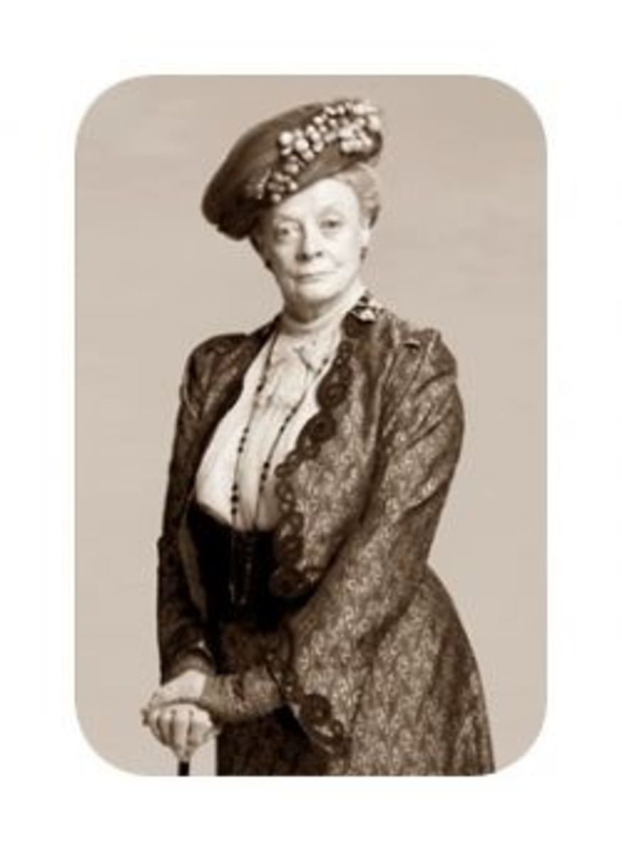 Maggie Smith as Violet in Downton Abbey (2010)