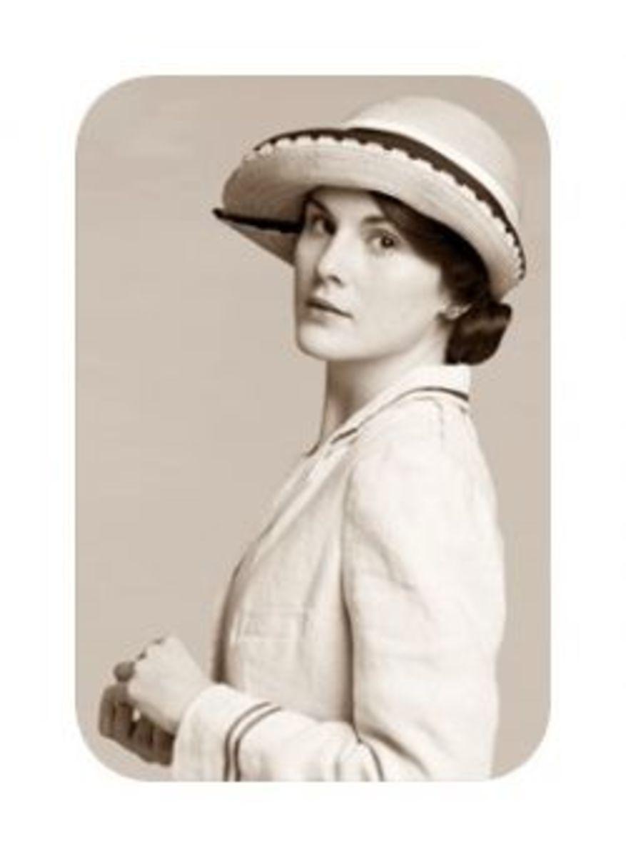 Michelle Dockery as Lady Mary Crawley in Downton Abbey (2010)