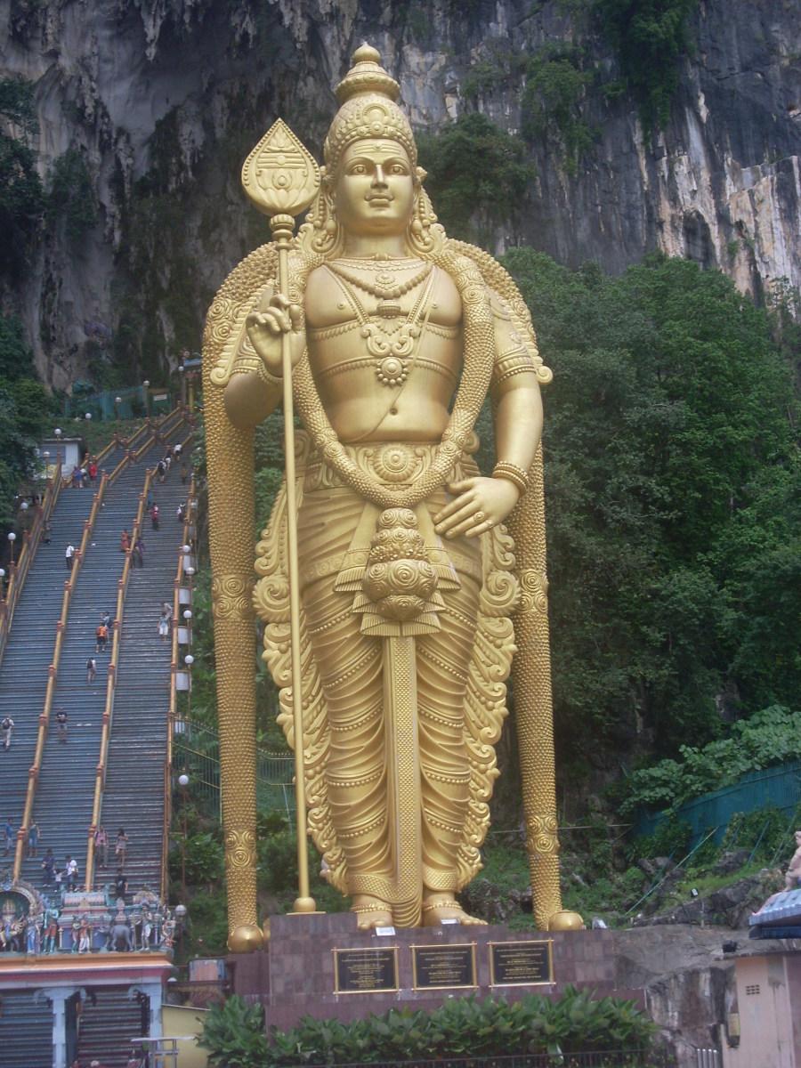 Statue near Batu caves, Kuala Lumpur.