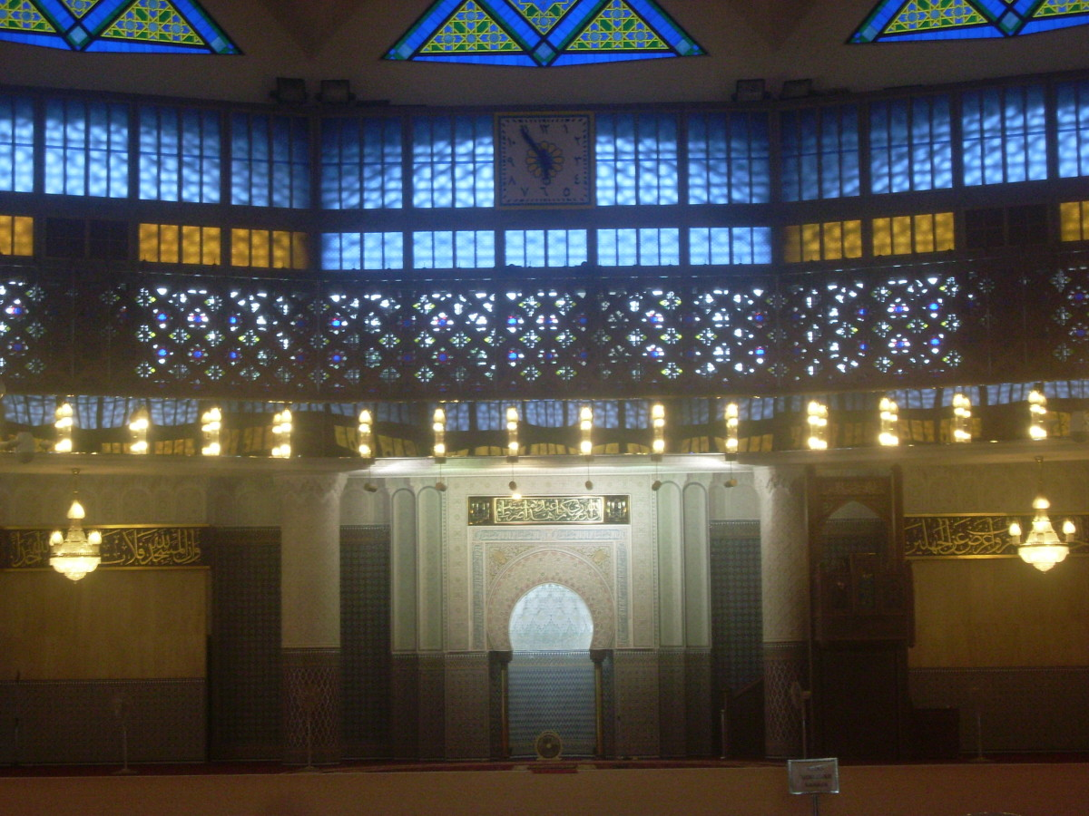 National Mosque, Kuala Lumpur.