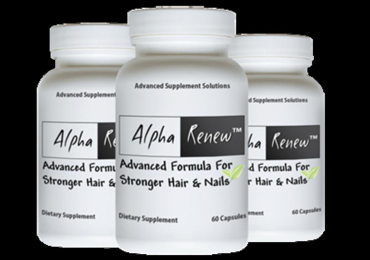 Alpha Renew Hair Growth Vitamins