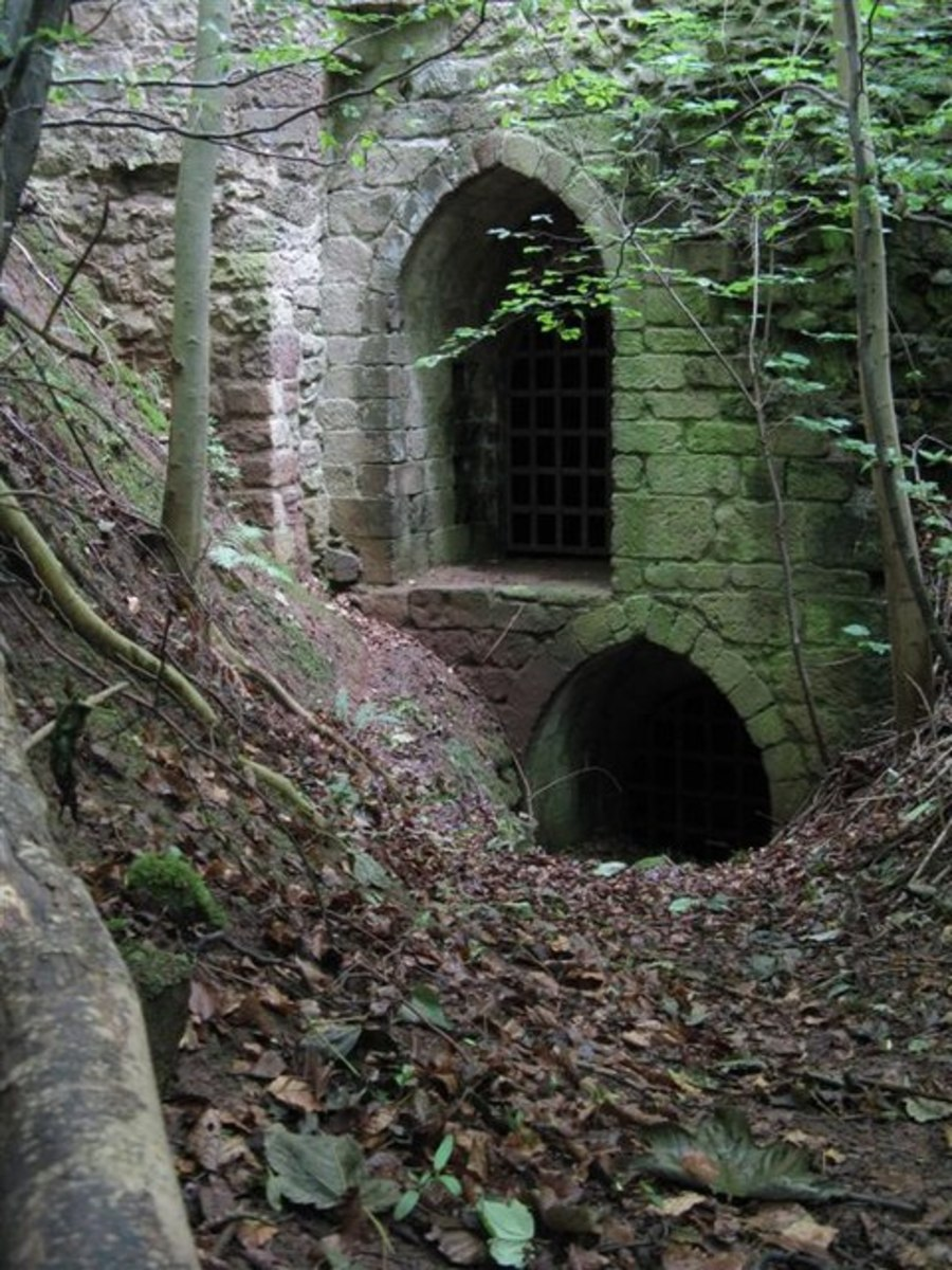 The Wizard of Yester and the Goblin Hall - A Scottish Castle Built by Goblins