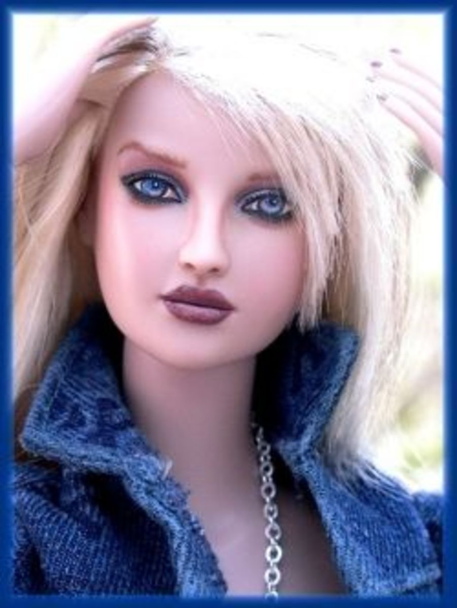 Tonner doll repaint by donne anne