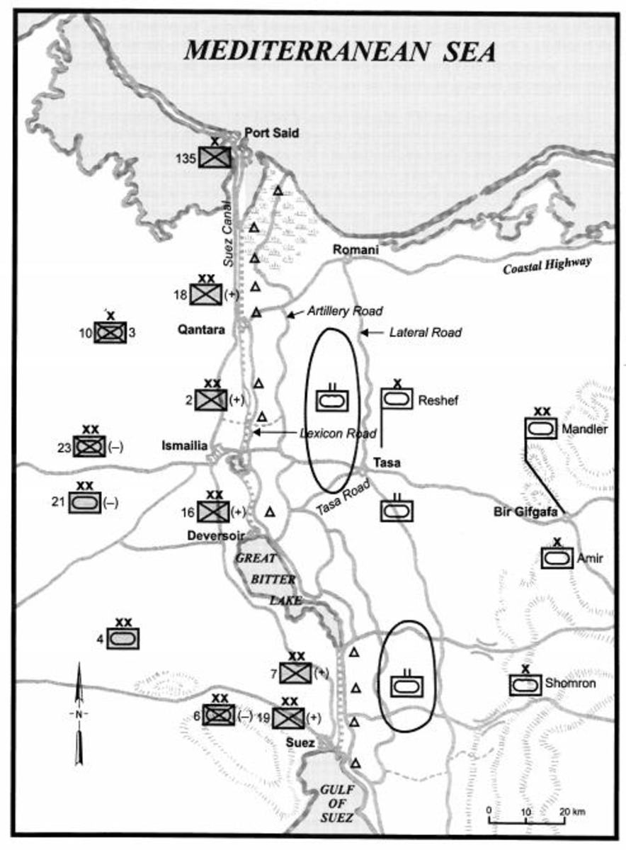 Deployments before the Oct. 6 War