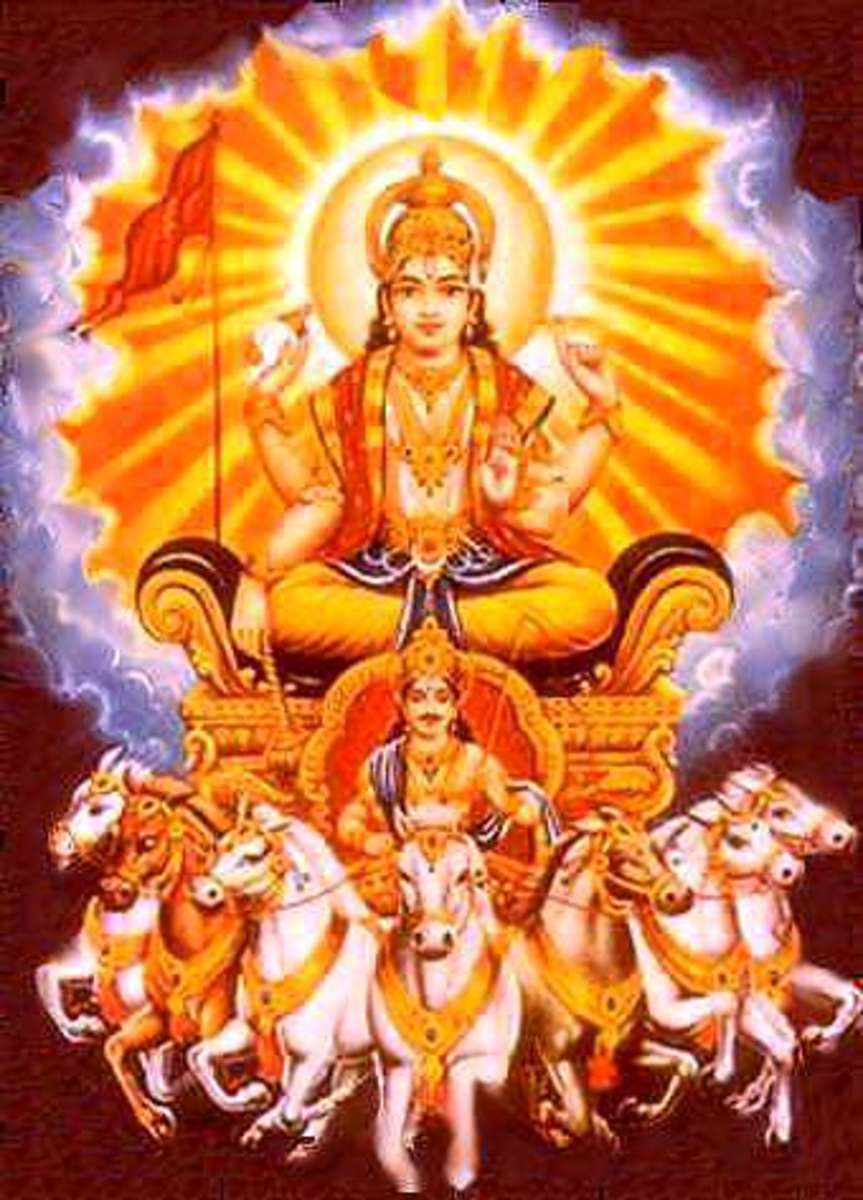 Benefits of Worshipping  the Sun-god