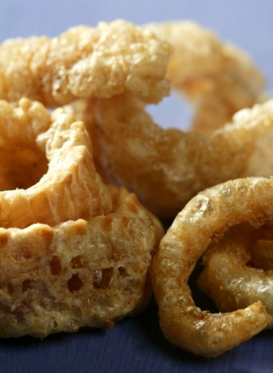 No wastage - pork skin made into crisps. Image:  holbox|Shutterstock.com